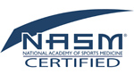 NASM National Academy of Sports Medicine Certified