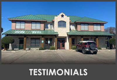 Chiropractic Oak Hill TX Testimonials